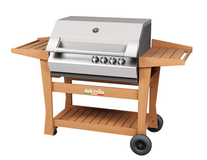 detailed look cc5dd ccb90 Barbecue à gaz Turbo 4 Elite – Dolcevita